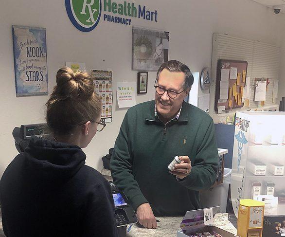 Pharmacist Tim Condon
